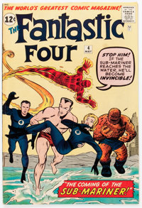 Fantastic Four #4 (Marvel, 1962) Condition: FN+