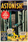 Silver Age (1956-1969):Horror, Tales to Astonish #1 (Marvel, 1959) Condition: FR/GD....