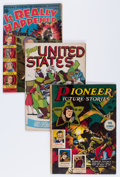 Golden Age (1938-1955):Miscellaneous, Comic Books - Assorted Golden Age Comics Group (Various Publishers, 1950s) Condition: Average VG+.... (Total: 10 Comic Books)