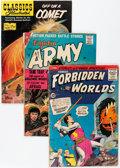Silver Age (1956-1969):Miscellaneous, Comic Books - Assorted Silver Age Comics Box Lot (Various Publishers, 1960s) Condition: Average GD....