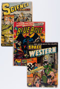 Golden Age (1938-1955):Science Fiction, Comic Books - Assorted Golden Age Science Fiction Comics Group(Various Publishers, 1950s) Condition: Average GD.... (Total: 8Comic Books)