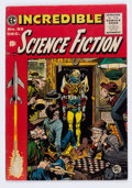 Golden Age (1938-1955):Science Fiction, Incredible Science Fiction #32 (EC, 1955) Condition: FN-....