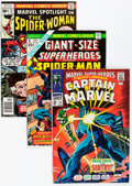 Bronze Age (1970-1979):Superhero, Marvel Bronze and Modern Age Comics Box Lot (Marvel, 1970s-'80s)Condition: Average VF.... (Total: 2 Items)