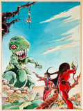 Original Comic Art:Covers, Joe Staton Science Fiction Cover Original Art (undated)....