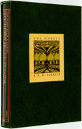 Books:Science Fiction & Fantasy, J.R.R. Tolkien. The Hobbit or There and Back Again. Boston: Houghton Mifflin, [1966]. First collector's edition. Pub...