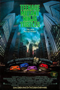 "Movie Posters:Action, Teenage Mutant Ninja Turtles (New Line, 1990). One Sheet (27"" X 40"") SS. Action.. ..."