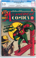 Golden Age (1938-1955):Superhero, All-American Comics #16 (DC, 1940) CGC VG- 3.5 Cream to off-white pages....