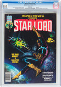 Magazines:Superhero, Marvel Preview #11 Star-Lord (Marvel, 1977) CGC VF 8.0 Whitepages....