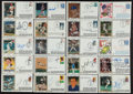 Baseball Collectibles:Others, Baseball Greats Signed Cachets Lot of 20....