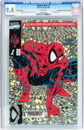 Modern Age (1980-Present):Superhero, Spider-Man #1 Platinum Edition - Don/Maggie Thompson Collectionpedigree (Marvel, 1990) CGC NM 9.4 White pages....