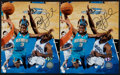 Basketball Collectibles:Photos, Chris Paul Signed Photographs Lot of 2....