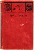 Books:Literature 1900-up, Bram Stoker. Lady Athlyne. London: William Heinemann, 1908. First edition. Octavo. 333 pages. Publisher's deep red c...