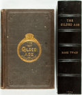 Books:Literature Pre-1900, [Mark Twain]. The Gilded Age; a Tale of Today. Hartford:Hartford Publishing Co., 1874. First edition. With typograp...