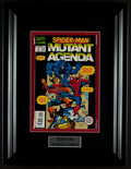 "Miscellaneous Collectibles:General, Stan Lee Signed ""Spider-Man The Mutant Agenda"" Comic Book...."