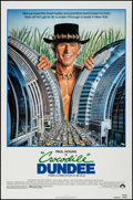 """Movie Posters:Adventure, Crocodile Dundee & Other Lot (Paramount, 1986). One Sheets (2)(27"""" X 41""""). Adventure.. ..."""