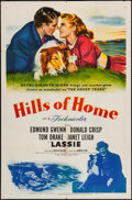 "Movie Posters:Adventure, Hills of Home (MGM, 1948). One Sheet (27"" X 41""). Adventure.. ..."
