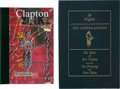 Music Memorabilia:Autographs and Signed Items, Eric Clapton Limited Edition 24 Nights #195/3500(Genesis Publications, Ltd., 1981)....