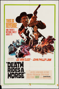 "Death Rides a Horse & Others Lot (United Artists, 1968). One Sheets (10) (27"" X 41"") & Insert..."