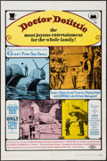 """Movie Posters:Fantasy, Doctor Dolittle & Other Lot (20th Century Fox, 1968). One Sheets (2) (27"""" X 41""""). Fantasy.. ... (Total: 2 Items)"""