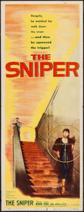 "Movie Posters:Crime, The Sniper (Columbia, 1952). Insert (14"" X 36""). Crime.. ..."