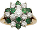 Estate Jewelry:Rings, Diamond, Tourmaline, Gold Ring. ...