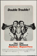 """Movie Posters:Crime, Dirty Harry/Magnum Force Combo (Warner Brothers, 1975). One Sheet (27"""" X 41""""). Crime.. ..."""
