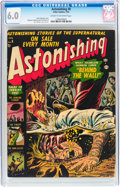 Golden Age (1938-1955):Horror, Astonishing #8 (Atlas, 1952) CGC FN 6.0 Cream to off-whitepages....