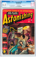 Golden Age (1938-1955):Horror, Astonishing #9 (Atlas, 1952) CGC FN+ 6.5 Off-white pages....