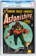 Golden Age (1938-1955):Horror, Astonishing #32 (Atlas, 1954) CGC FN 6.0 Cream to off-whitepages....