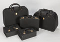 Automobilia, FERRARI 512 TR 5-PIECE LEATHER LUGGAGE SET BY SCHEDONI. Italy,1990s. ... (Total: 5 Items)