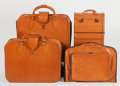 Automobilia, FERRARI 348 4-PIECE LEATHER LUGGAGE SET BY SCHEDONI. Italy, 1990s.... (Total: 4 Items)