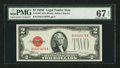 Small Size:Legal Tender Notes, Fr. 1507 $2 1928F Legal Tender Note. PMG Superb Gem Uncirculated 67 EPQ.. ...