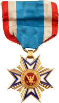 Military & Patriotic:Civil War, Identified MOLLUS Medal Belonging to Thomas Livermore 5th New Hampshire Volunteers. ...