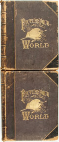 Books:Art & Architecture, Leo De Colange, editor. The Picturesque World or, Scenes in Many Lands. With One Thousand Illustrations on Wood and Stee... (Total: 2 Items)