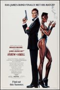 """Movie Posters:James Bond, A View to a Kill (United Artists, 1985). Poster (40"""" X 60"""")Advance. James Bond.. ..."""