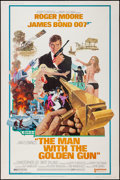 """Movie Posters:James Bond, The Man with the Golden Gun (United Artists, 1974). Poster (40"""" X 60""""). James Bond.. ..."""