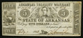 Obsoletes By State:Arkansas, (Little Rock), AR- The State of Arkansas $5 July 7, 1863 Cr. 50B. ...