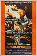 "Movie Posters:James Bond, Goldfinger (United Artists, 1964). Poster (40"" X 60"") Style Y. James Bond.. ..."