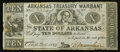 Obsoletes By State:Arkansas, (Little Rock), AR- The State of Arkansas $10 Aug. 24, 1863 Cr.56B. ...