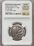 Ancients:Greek, Ancients: MACEDONIAN KINGDOM. Philip III (323-317 BC). ARtetradrachm (17.10 gm)....