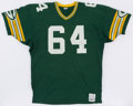 Football Collectibles:Uniforms, 1983-84 Syd Kitson Game Worn Green Bay Packers Jersey....