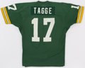 Football Collectibles:Uniforms, 1974 Jerry Tagge Game Worn Green Bay Packers Jersey....