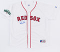 Baseball Collectibles:Uniforms, Carlton Fisk Signed Boston Red Sox Jersey. ...