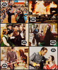 "Movie Posters:Academy Award Winners, Gone with the Wind (CIC, R-1960s). British Front of House ColorPhotos (10) (8"" X 10""). Academy Award Winners.. ... (Total: 10Items)"