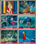 "Movie Posters:Animation, The Sword in the Stone (Walt Disney, 1963). British Front of HouseSet of 10 (8"" X 10""). Animation.. ... (Total: 10 Items)"
