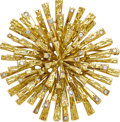 Estate Jewelry:Brooches - Pins, Diamond, Gold Pendant-Brooch, Tiffany & Co.. ...