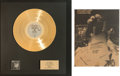 Music Memorabilia:Awards, Styx The Grand Illusion Gold Record Award (A&M SP-4637,1977) with Promo Ad Signed by the Band. ... (Total: 2 Items)