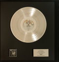 Music Memorabilia:Awards, Styx The Grand Illusion Platinum Record Award (A&MSP-4637, 1977). ...