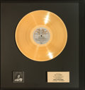 Music Memorabilia:Awards, Rita Coolidge Anytime...Anywhere Gold Record Award (A&M SP-4616, 1977). ...