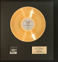 Music Memorabilia:Awards, Supertramp Even In The Quietest Moments... Gold Record Award(A&M SP-4634, 1977). ...